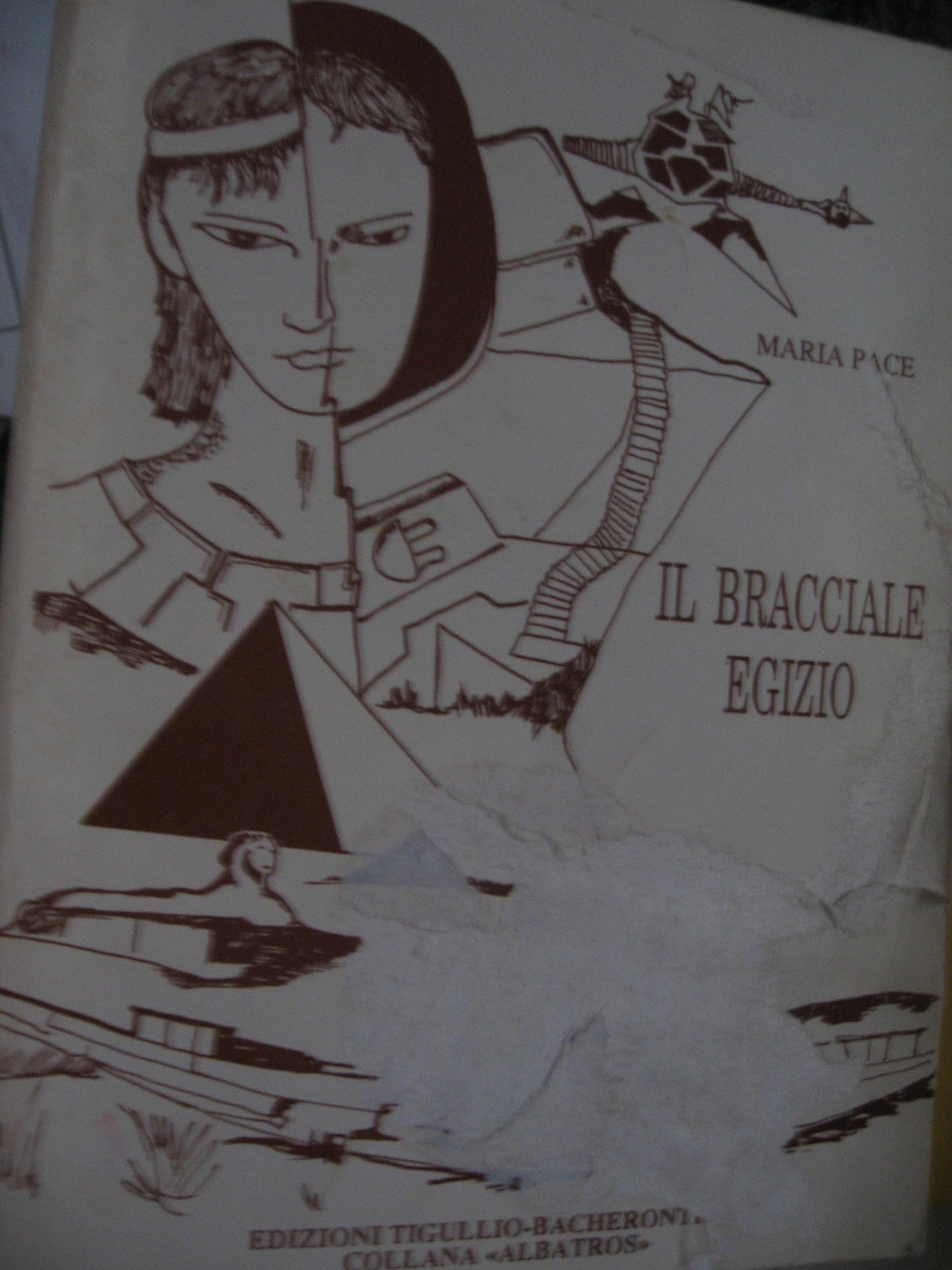 """copertina de """"Il bracciale egizio"""""""