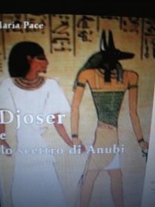 Copertina libro DJOSER e lo Scettro di Anubi di Maria Pace